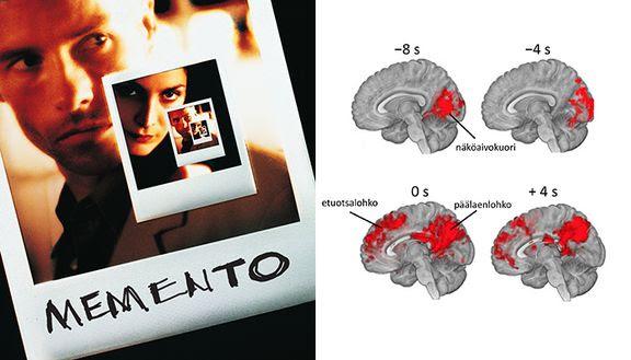 Memento-elokuvan avulla selvitetty aivojen tapaa muistaa ja tulkita tapahtumia vihjeistä